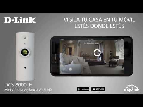 D Link CamaraWiFi vigilancia desde movil DCS 8000LH