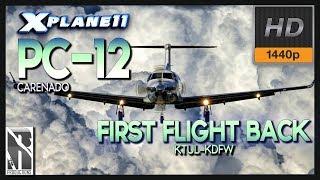 X Plane 11] Pilatus PC-12 | GCGM-GCLP | Puesta en Marcha y