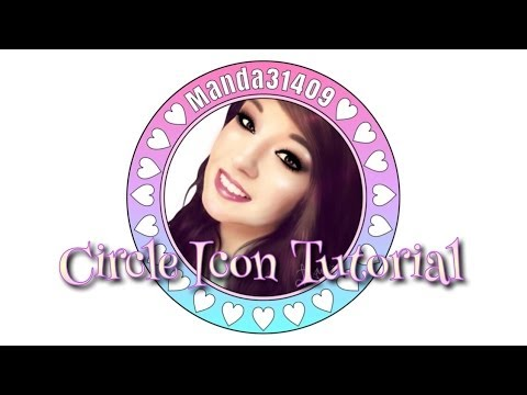 Circle Icon Tutorial (For Instagram)