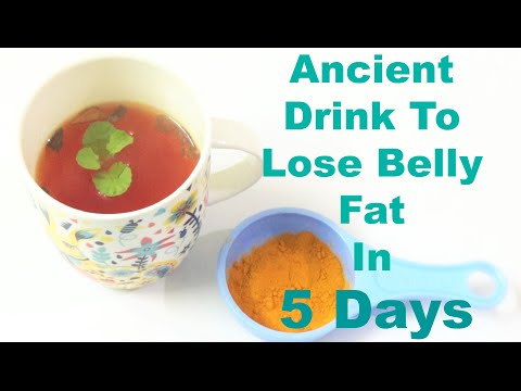 Ancient Drink to Lose Belly Fat in 5 Days