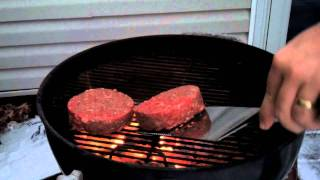 How To Grill Stufz Stuffed Burgers Over A 2 Zone Fire
