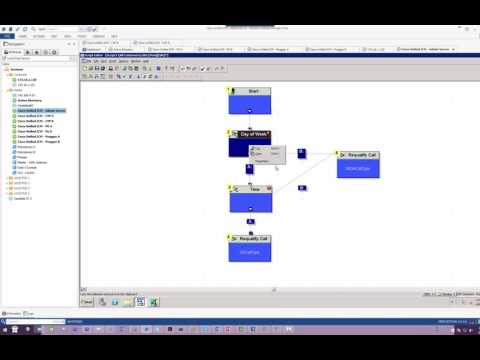 UCCE Scripting Lab 4   Develop a Script to route calls based on Time and Date