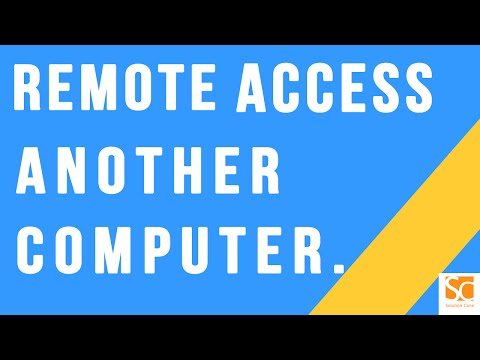 How to remote access another computer from yours over Internet | using Team Viewer