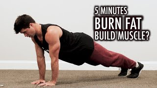 Burn Fat With Only 5 Minute Workouts?