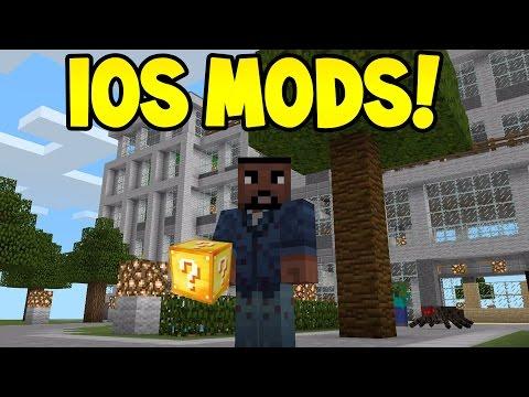 Minecraft PE - 0.15.10/0.16.0 - IOS MODS WITHOUT JAILBREAK!! - TUTORIAL
