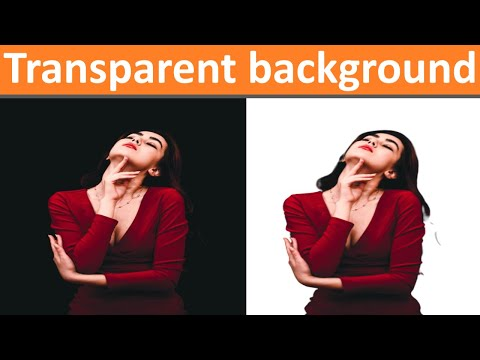 How To Make Background Of An Image Transparent - Technical Toons