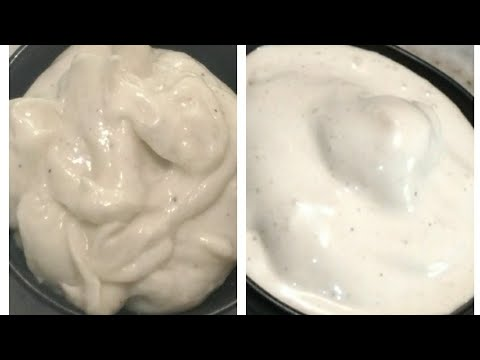VEG AND NONVEG MAYONNAISE RECIPE || Market style mayonnaise at home || Sanobar's Kitchen