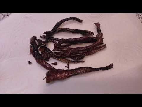 Crispy Fried Salted Pepper Strips