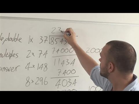 How To Give Lessons On Long Division