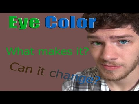 Eye Color: What Makes It and What Changes It