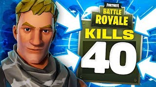 40 KILLS IN A Fortnite Battle Royale Match!