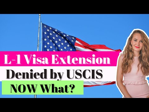 L1 Visa to the USA - Extension Denied by USCIS