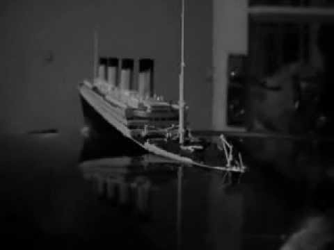 Titanic Sinking in a bowl