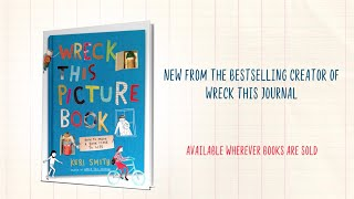Wreck This Picture Book by Keri Smith | Official Book Trailer