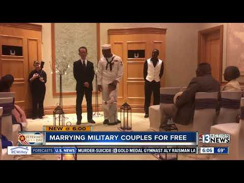 Las Vegas Marry the Military