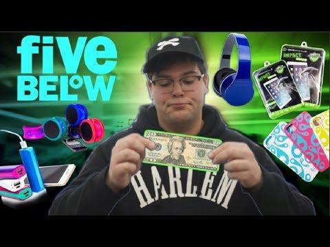 FIVE BELOW $20 Challenge!!! (Tech Edition)