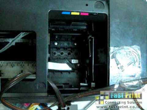 How to Install Head Printer Epson T11 and T20