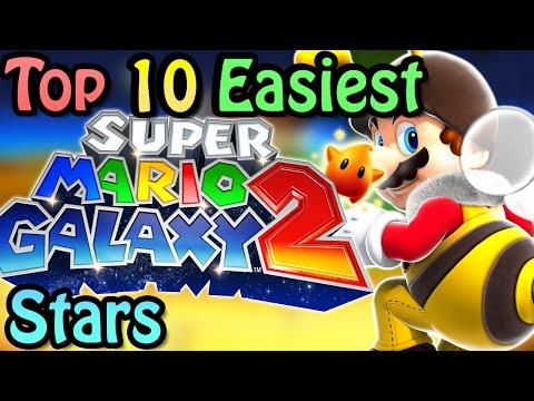 Top 10 Easiest Super Mario Galaxy 2 Stars