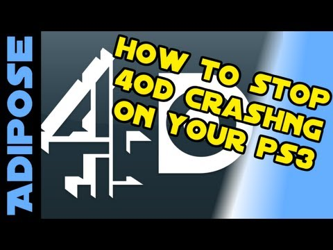 How to stop 4OD crashing on your PS3