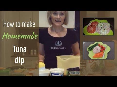 How to make Homemade Tuna Dip