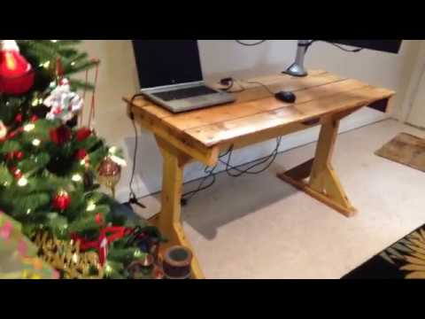 Making a Desk from Reclaimed Wood