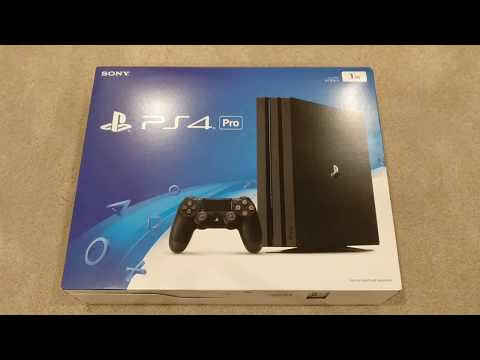 Sony Playstation 4 PS4 Pro Unboxing