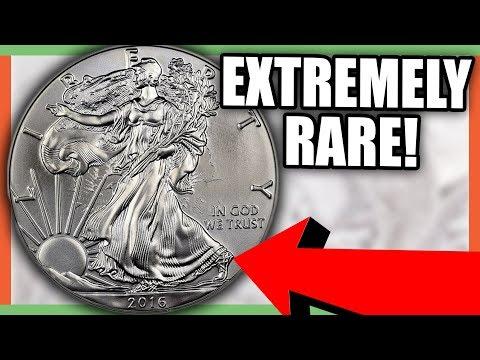 VERY RARE 2016 SILVER EAGLE COIN - ERROR COINS WORTH MONEY!!
