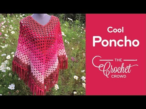 How To Crochet A Poncho: 🍰  Cool Poncho