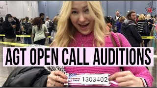 Agt 2017 Open Call Audition  Vlog