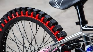 INCREDIBLE WHEELS AND TIRES FOR BICYCLES