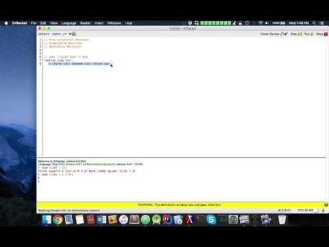 Functional Programming (Racket): Recursion Introduction