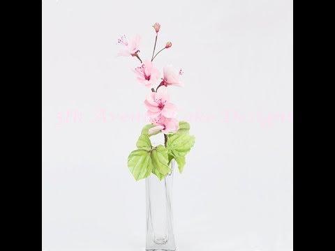 Creating gumpaste Cherry Blossom
