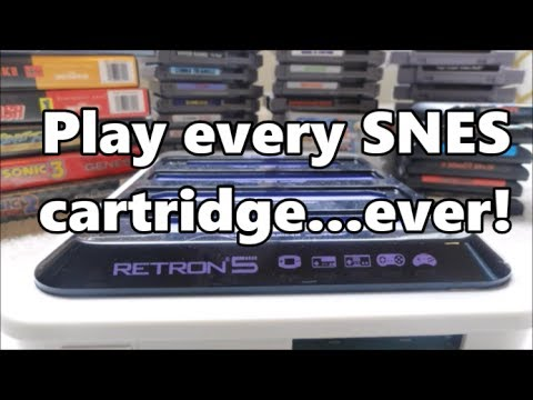 Play every SNES cartridge ever!