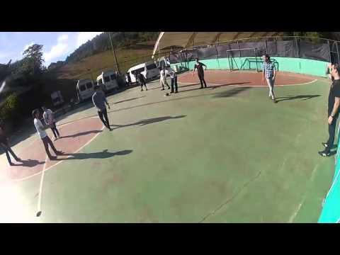 Os Jonas Jogando Futebol Americano na Venezuela!