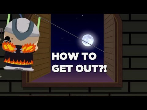 HOW TO GET OUT OF HUMAN KITE'S BASE IN SOUTH PARK: THE FRACTURED BUT WHOLE