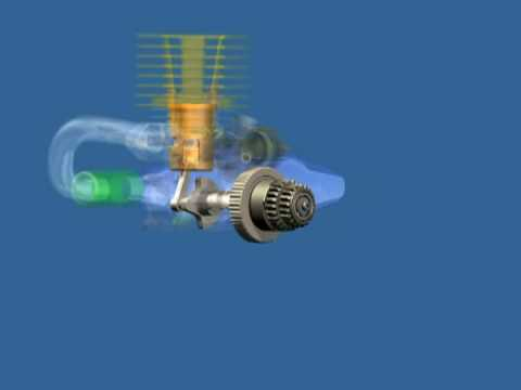 R/C Nitro Engine Modeled in Inventor