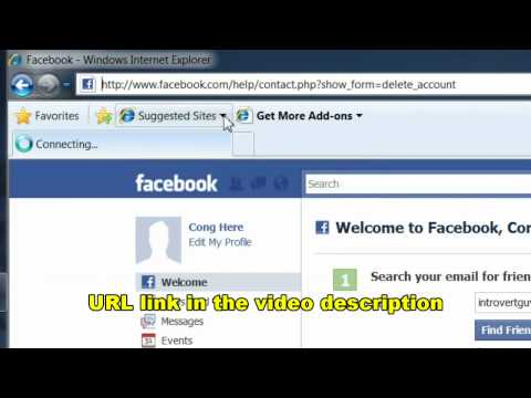 How to Permanently Delete Your Facebook Account...for REAL
