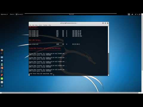 NetSecNow - dnsenum Tool Usage, Hacking DNS in Kali Linux 2.0