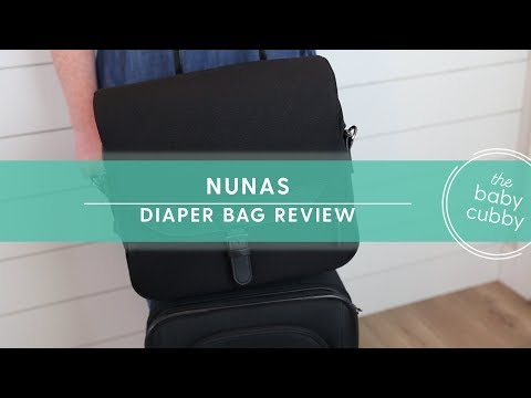 Nunas 1st Diaper Bag   Great for Travel