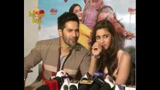 Interview Of Alia Bhatt,Varun Dhawan & Siddharth Shukla of