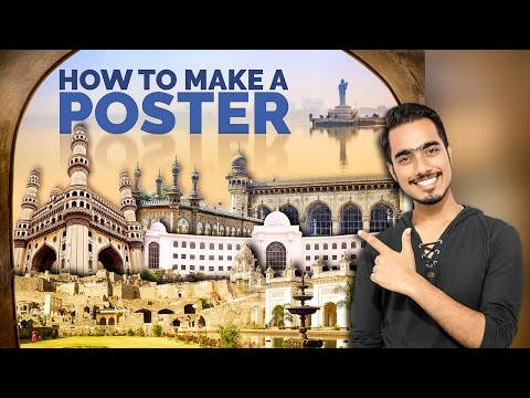 How to Make a Poster or Collage in Photoshop