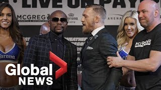 Floyd Mayweather vs. Conor McGregor final press conference ahead of fight