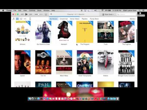 watch own movies on apple tv using itunes