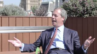 Nigel Farage on an EU referendum, gay marriage, drugs liberalisation, and his perfect Sunday