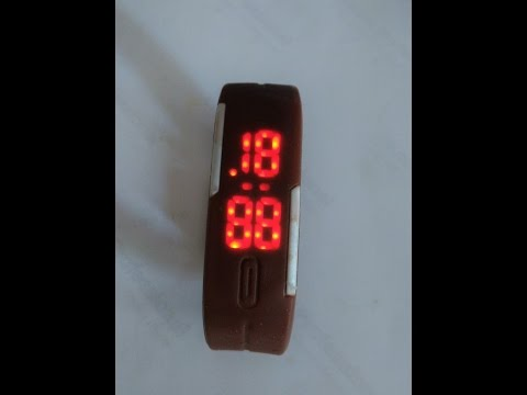 How to set time in LED watch