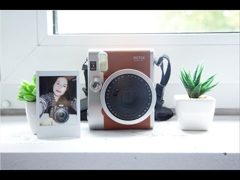 Unboxing / Demo: Instax Mini 90 Neo Classic
