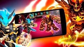 Monster Legends - TEAM WARS - EPIC MAXI YT Vs Guerreiros de Gloria