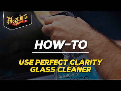 How to Apply Meguiar's Perfect Clarity Glass Cleaner in three Easy Steps