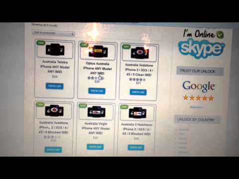 How to Unlock Telstra Australia iPhone 5 4s 4 5s 5c any Carrier by IMEI