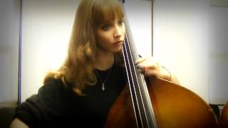 My Ominous Warm Up For Double Bass